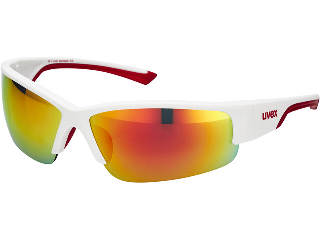 UVEX sportstyle 215 Glasses white mat red